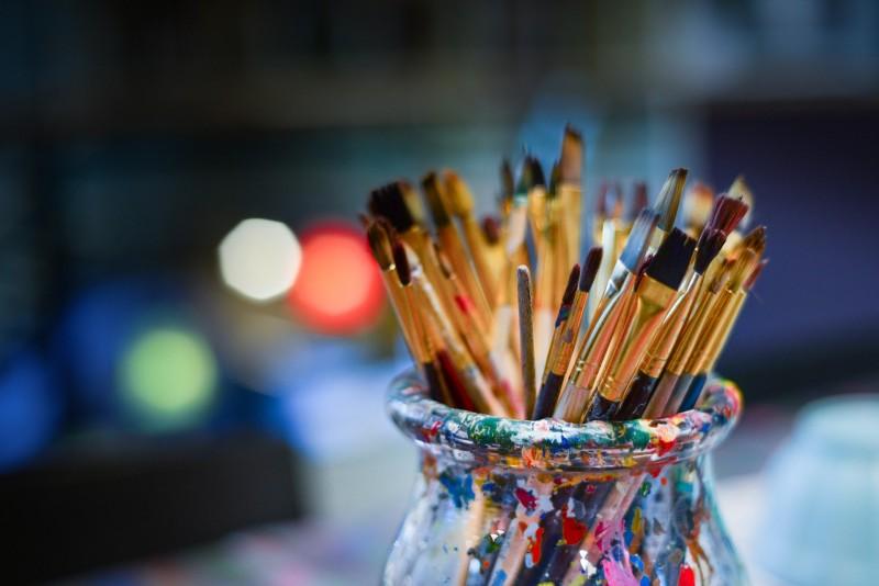 Art galleries and artists' studios