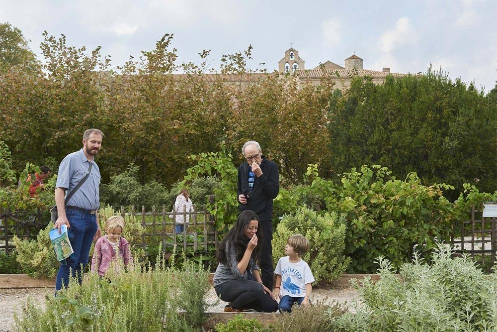 Jardin Abbaye de Valmagne