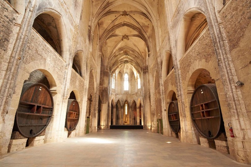 Interieur abbaye de Valmagne